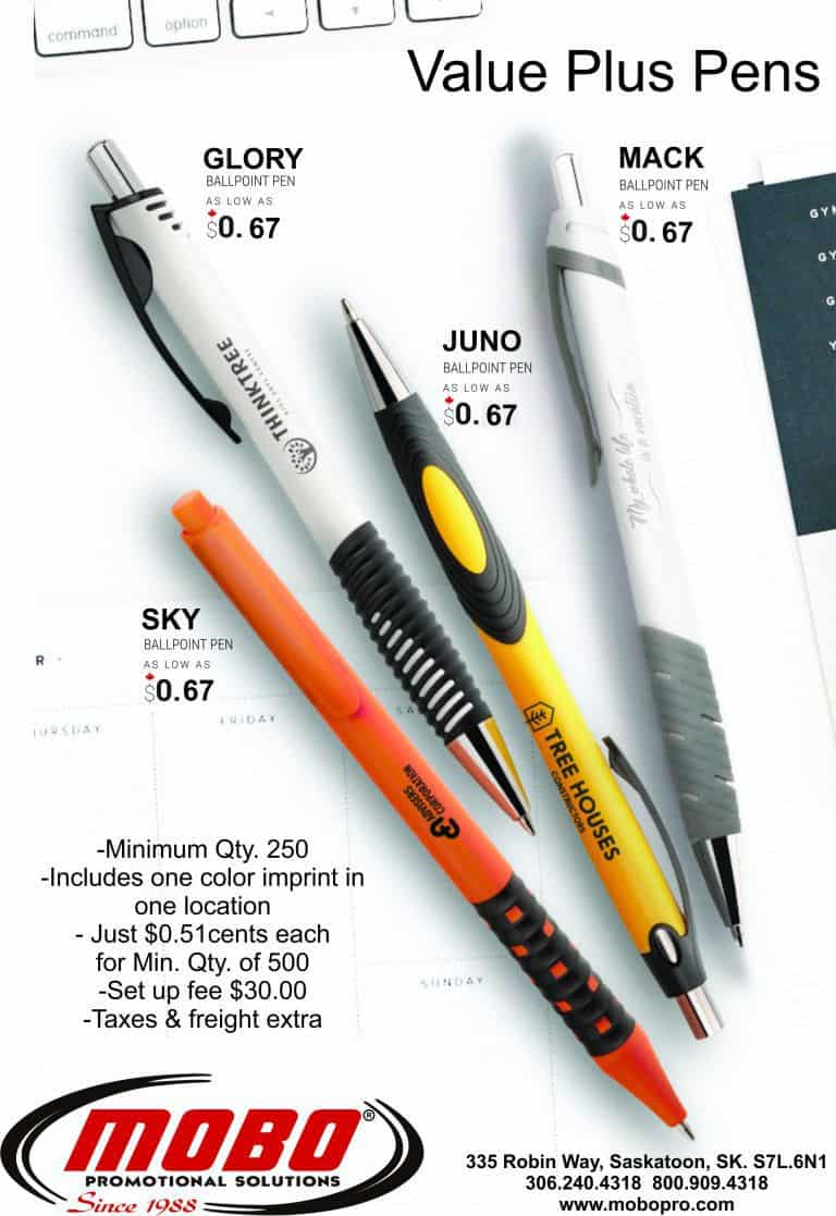 Value Plus Pens catalogue