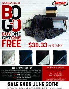 BOGO Blankets catalogue