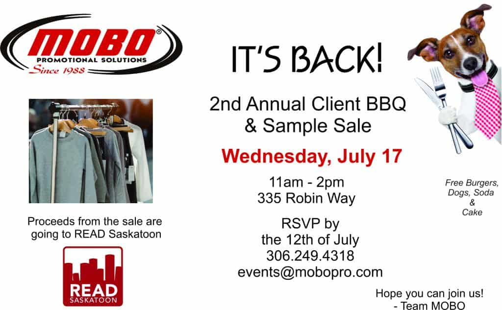 2nd Annual Client BBQ & Sample Sale