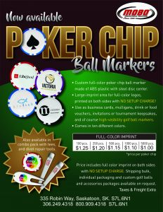 Poker Chip Ball Markers catalogue