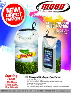 Sublimated Dry Bag catalogue