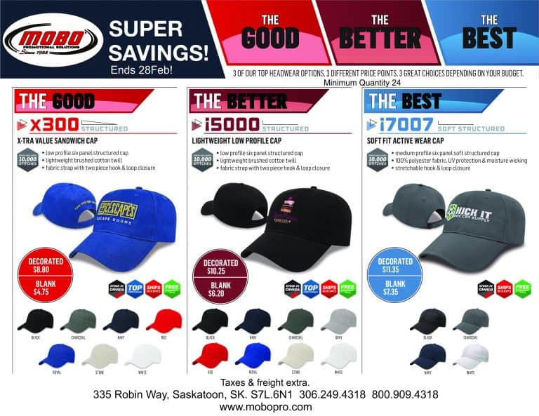 Cap Special catalogue