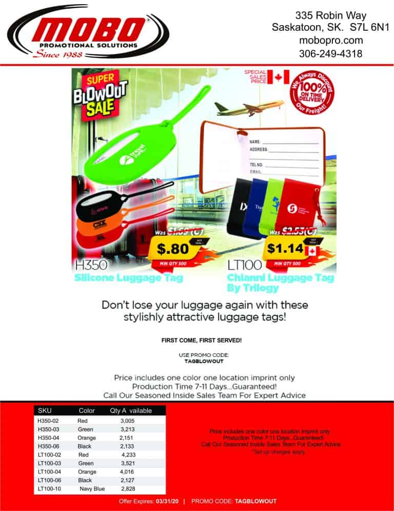 Luggage Tags catalogue