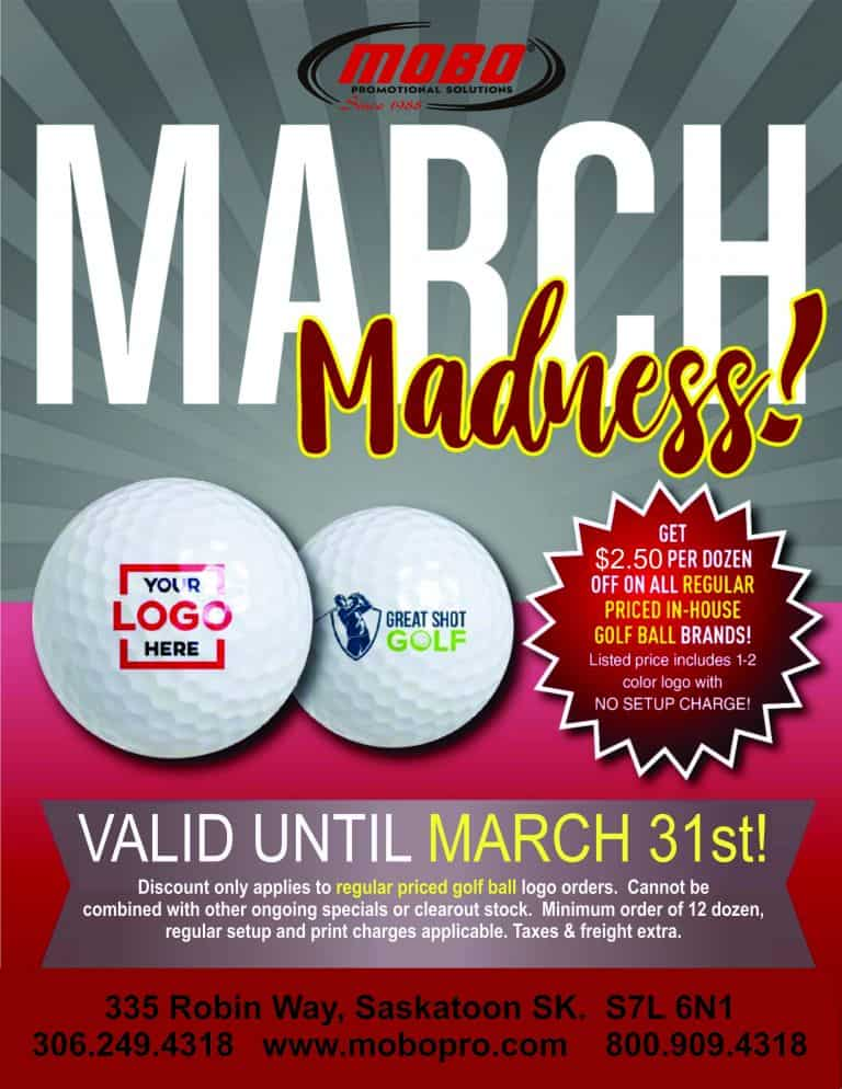 March Madness Golf Special catalogue