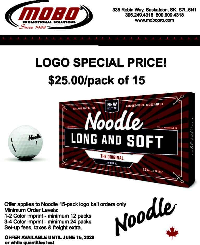 Taylormade Noodle Special catalogue