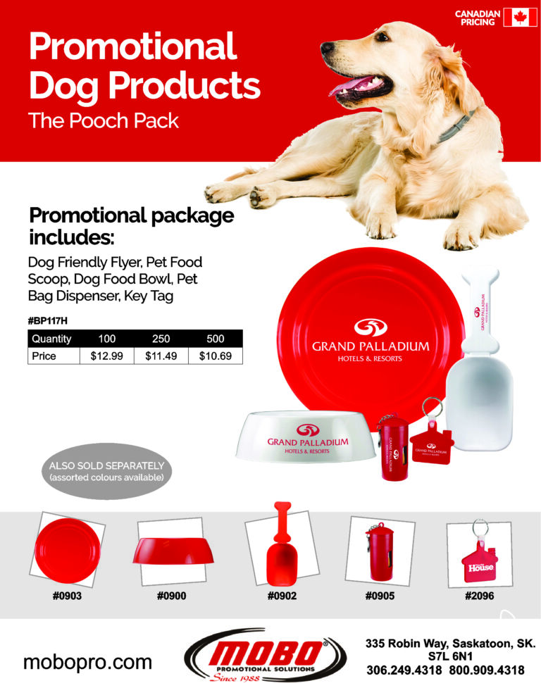 The Pooch Pack catalogue