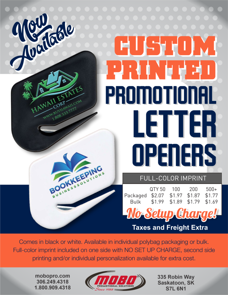 Custom Letter Openers catalogue